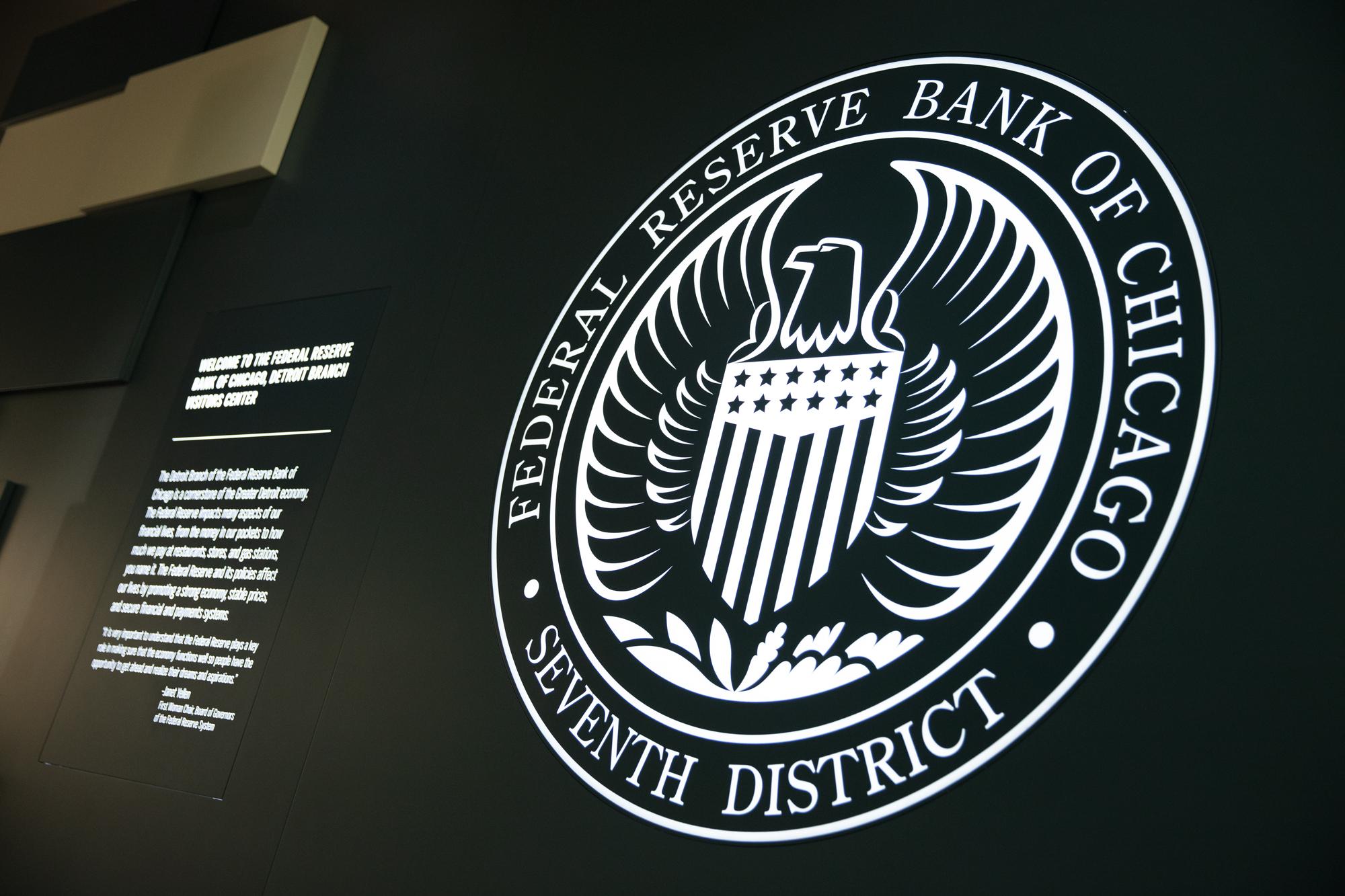 Design element on the Detroit Branch Visitors Center's exhibit wall